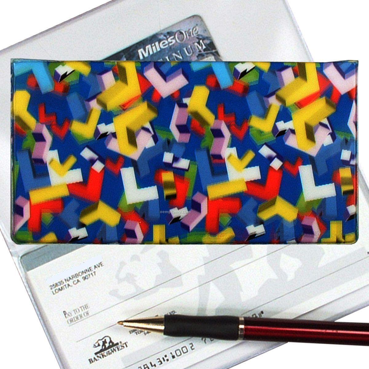 3d Lenticular Checkbook Cover ( L Shapes)