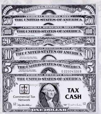 "Big Money Play Money (9""X3-3/4"")"