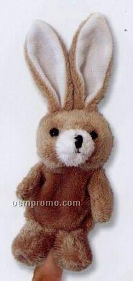 Custom Plush Rabbit Finger Puppets