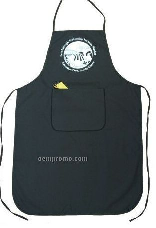 One Pocket Bib Apron