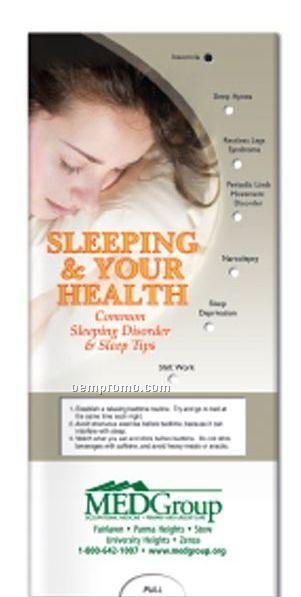 Pocket Slider Brochure - Sleeping And Your Health