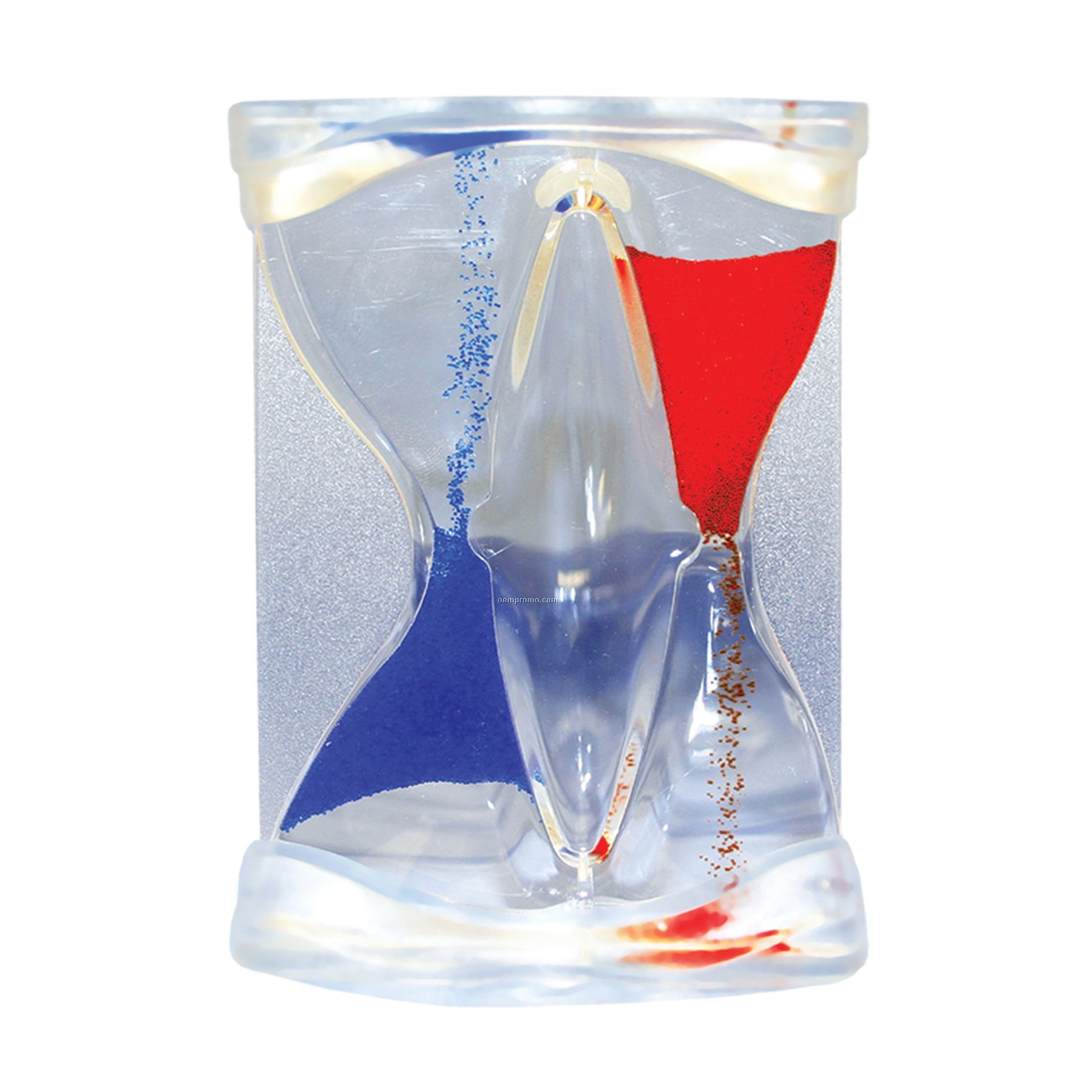 Inverse Flow Liquid Timer - Blue/Red