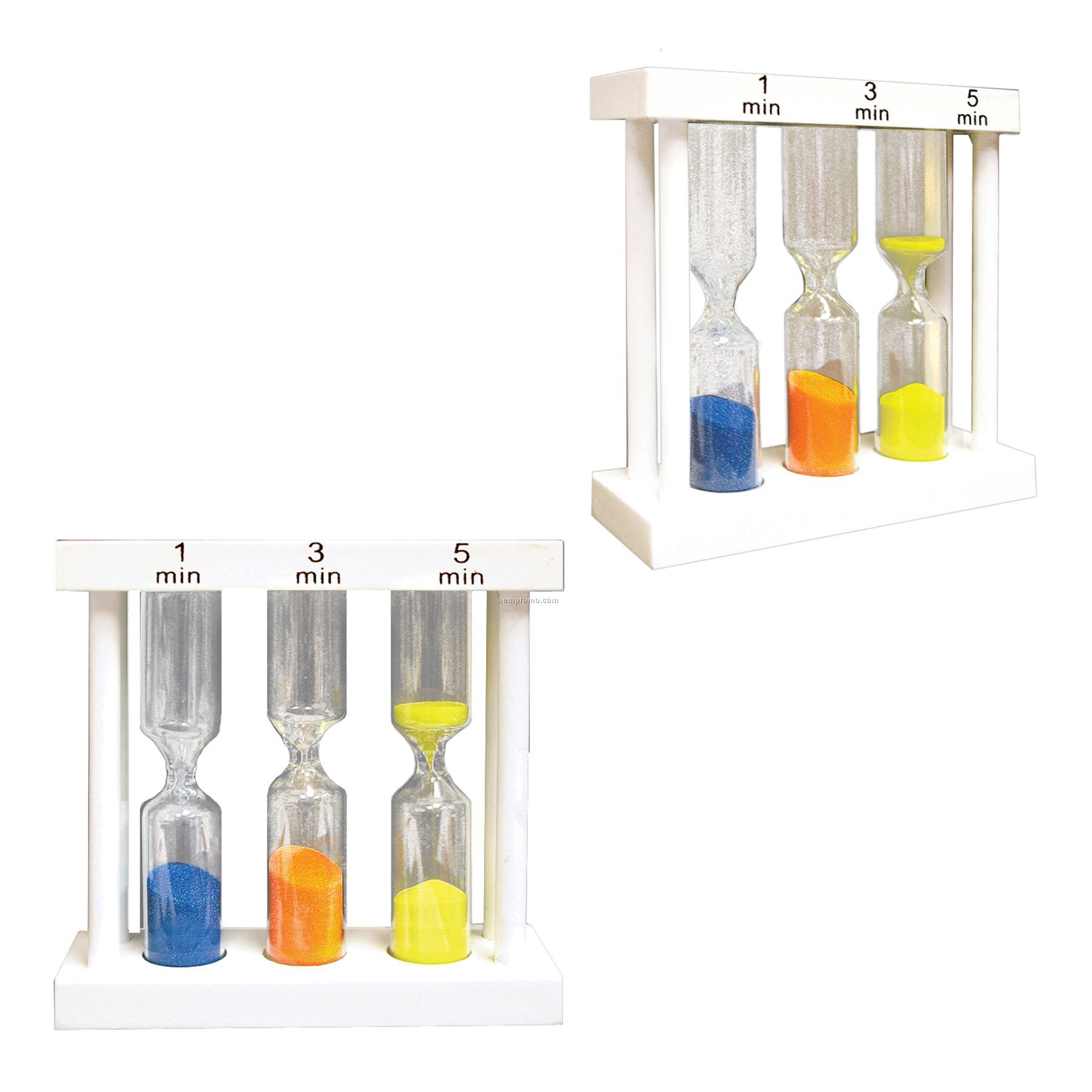 3 In 1 Sand Timer - Yellow/Blue/Orange