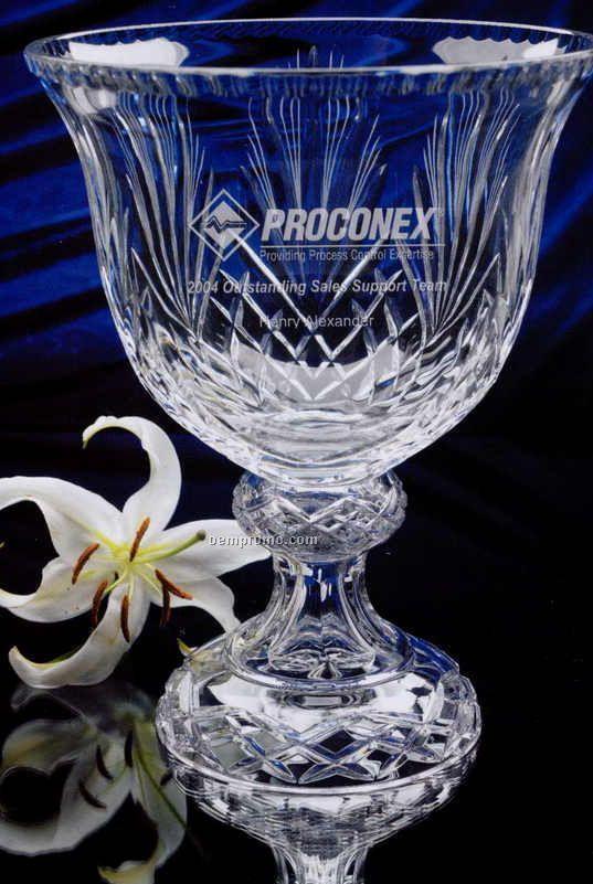"Crystal Grandee Award Bowl (14"")"