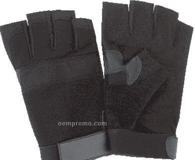 Diamond Plate 10 Pair Half Gloves Set