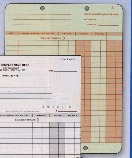 Statement/ Ledger System Ledger Card
