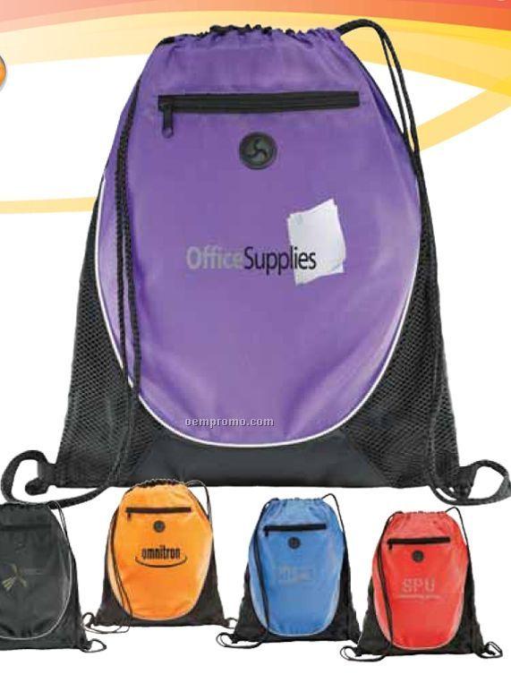 The Peek Drawstring Backpack