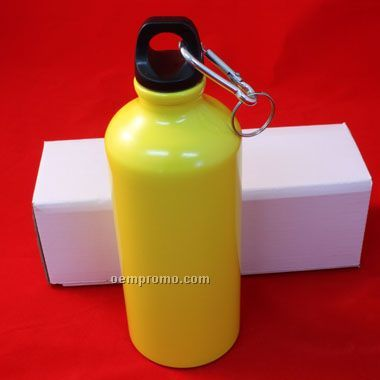 22 Oz Aluminum Sports Water Bottle W/Box (Screened)