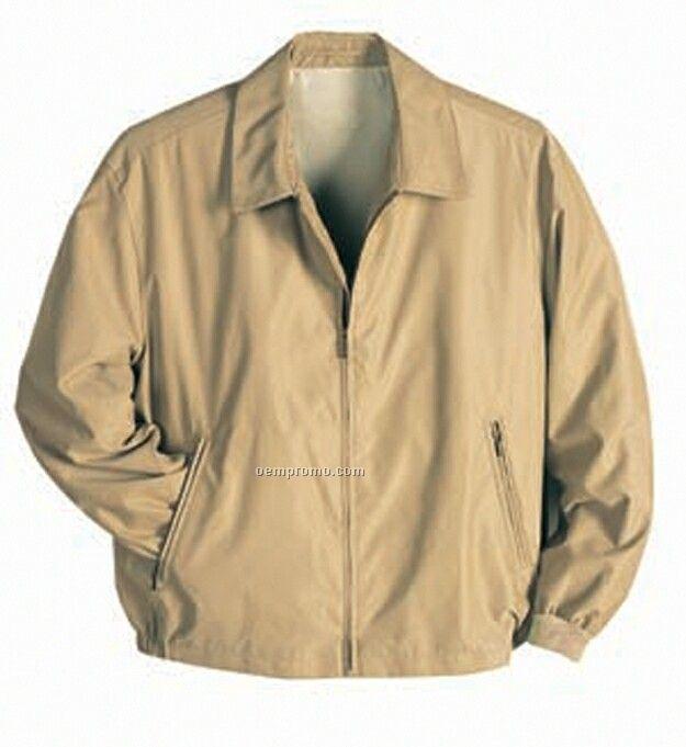 Full Zip Wind Proof/Water Resistant Microfiber All Season Jacket