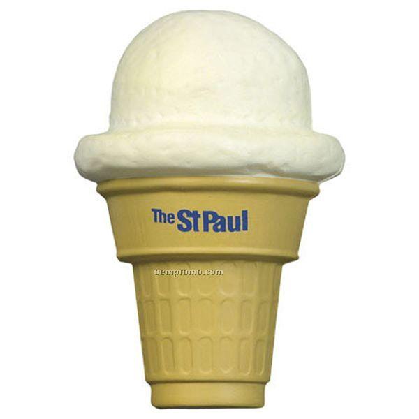 Ice Cream Cone Squeeze Toy