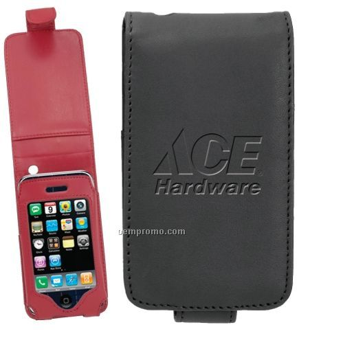 Multifunction Easel Leather Flip Case For Apple's Ipod Touch Phone