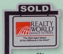 Realty Sign Flexible Magnet