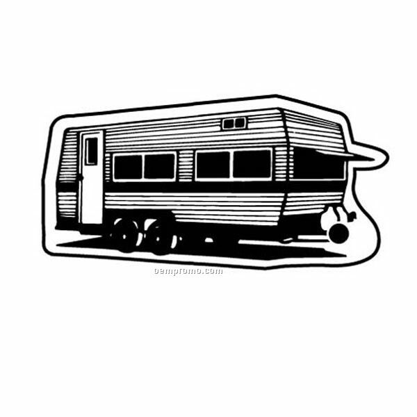 Stock Shape Collection Mobile Home W/ Rear Door Key Tag