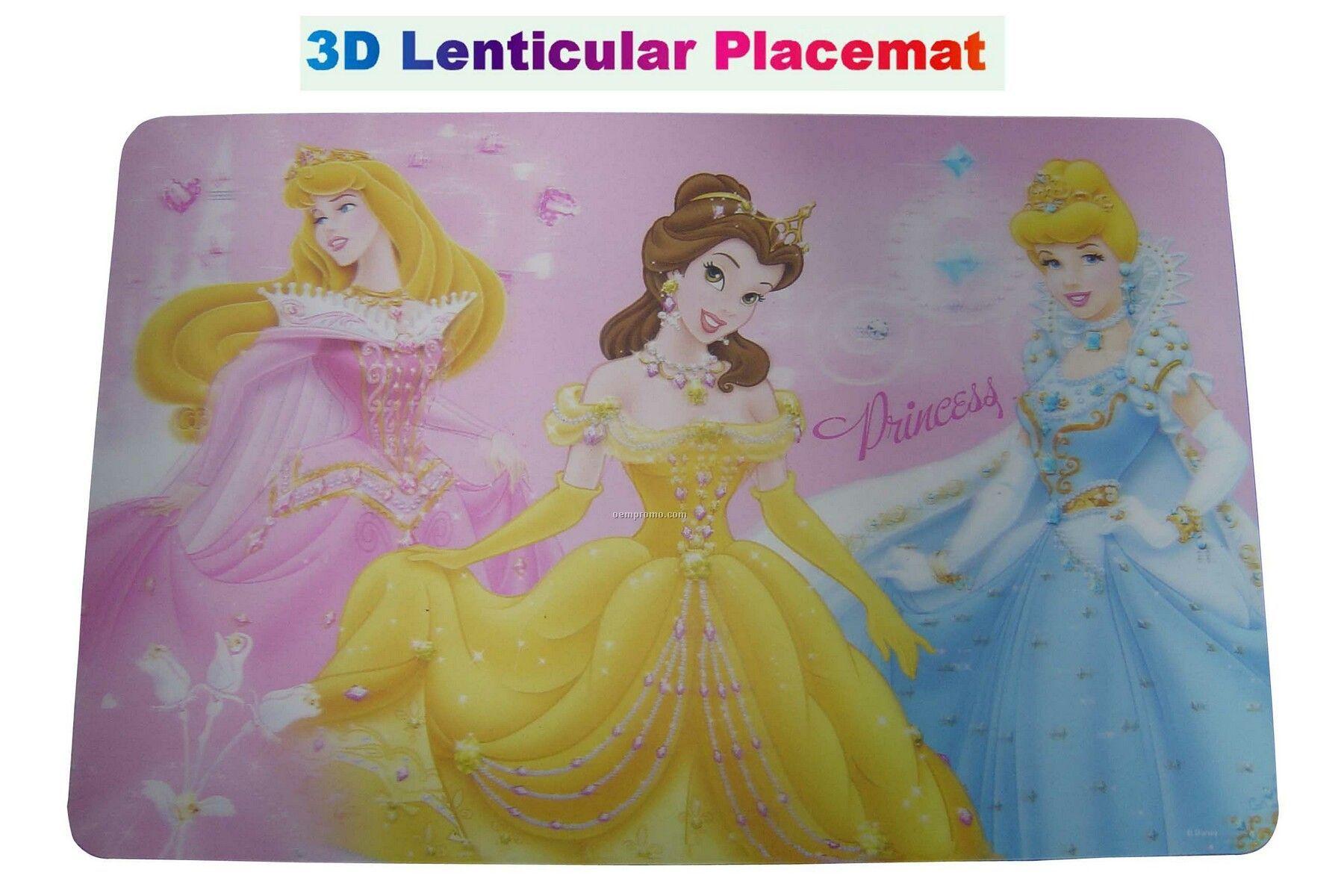 3d Lenticular Placemat