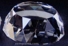 "5""X5""X2"" Crystal Half Dome Base"