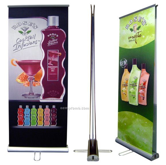 Banner Stand - Rs7 Standard Double Sided
