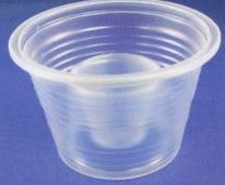 Disposable Plastic Double Shot Glass