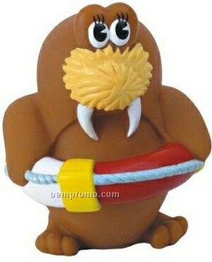 Rubber Walrus Toy