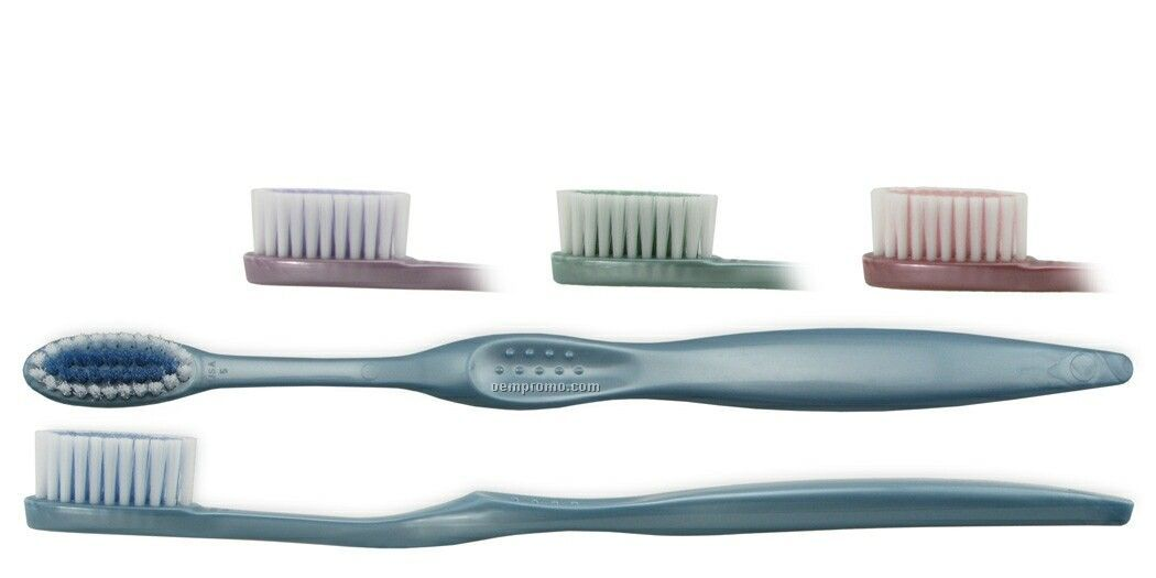 Adult Concept Manual Toothbrush W/ Pearlized Handle