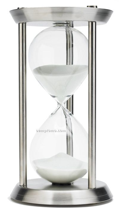 Stainless Steel Hourglass