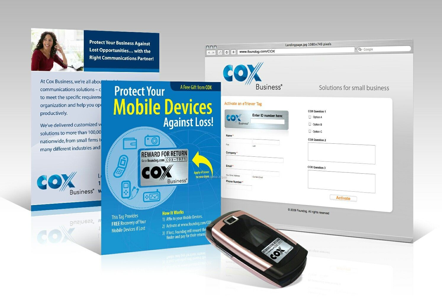Etriever Mobile Phone Tag And Global Recovery Service
