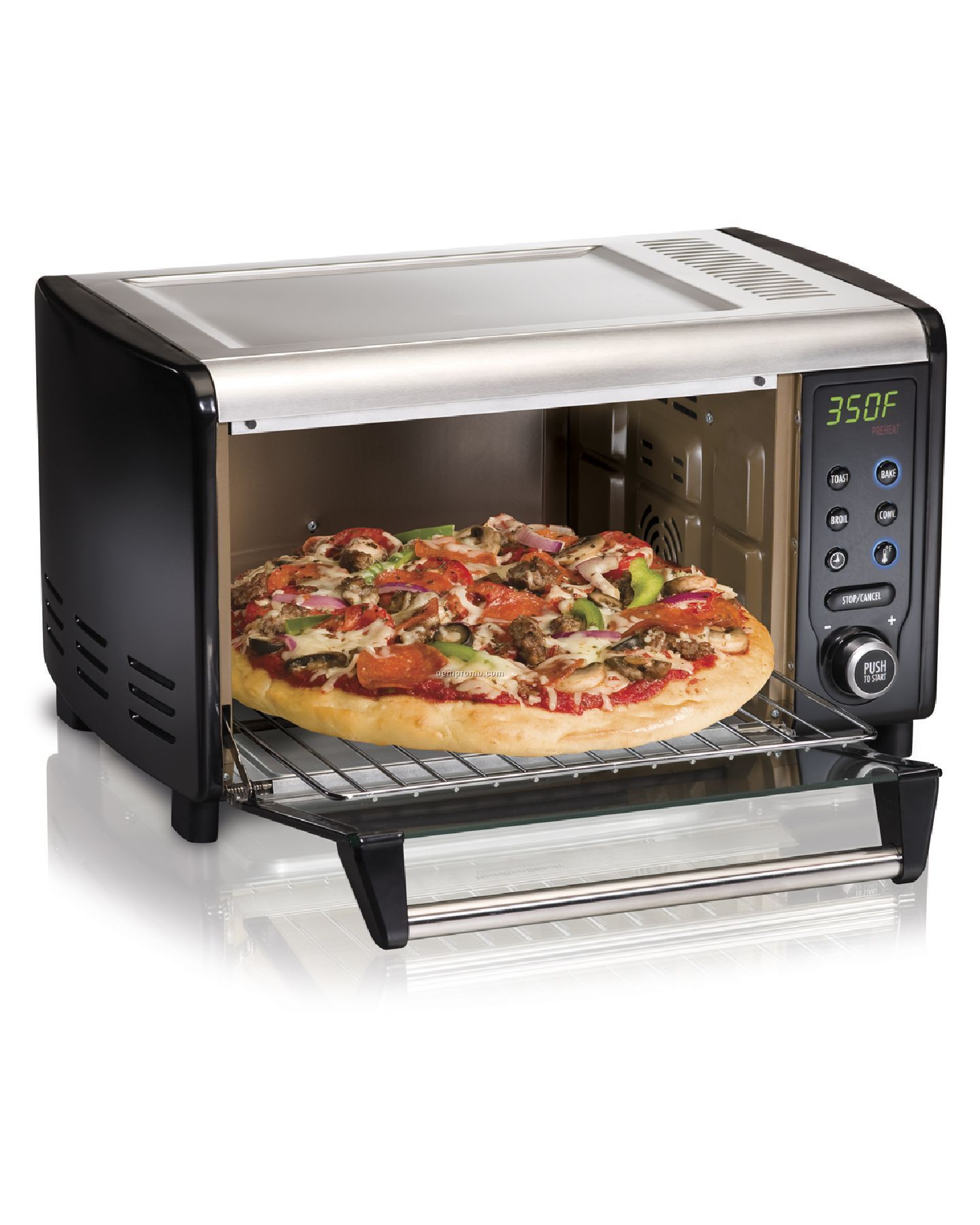 China Electric Oven Toaster Oven: Digital Toaster Oven,China