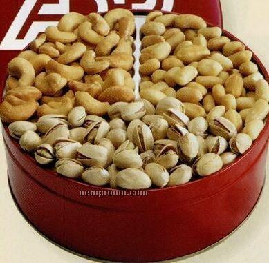 Medium 3-way Nut Tin