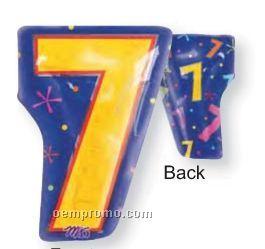 "18"" Seven Junior Shape Number Balloon"
