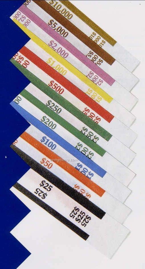 Barred Aba Currency Bands ($250.00 Volume)