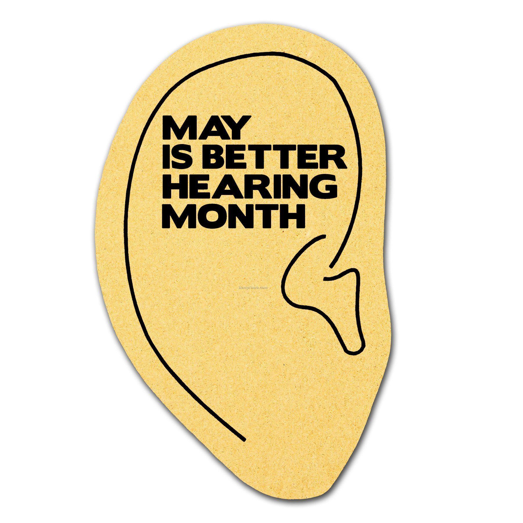 Compressed Ear Sponge