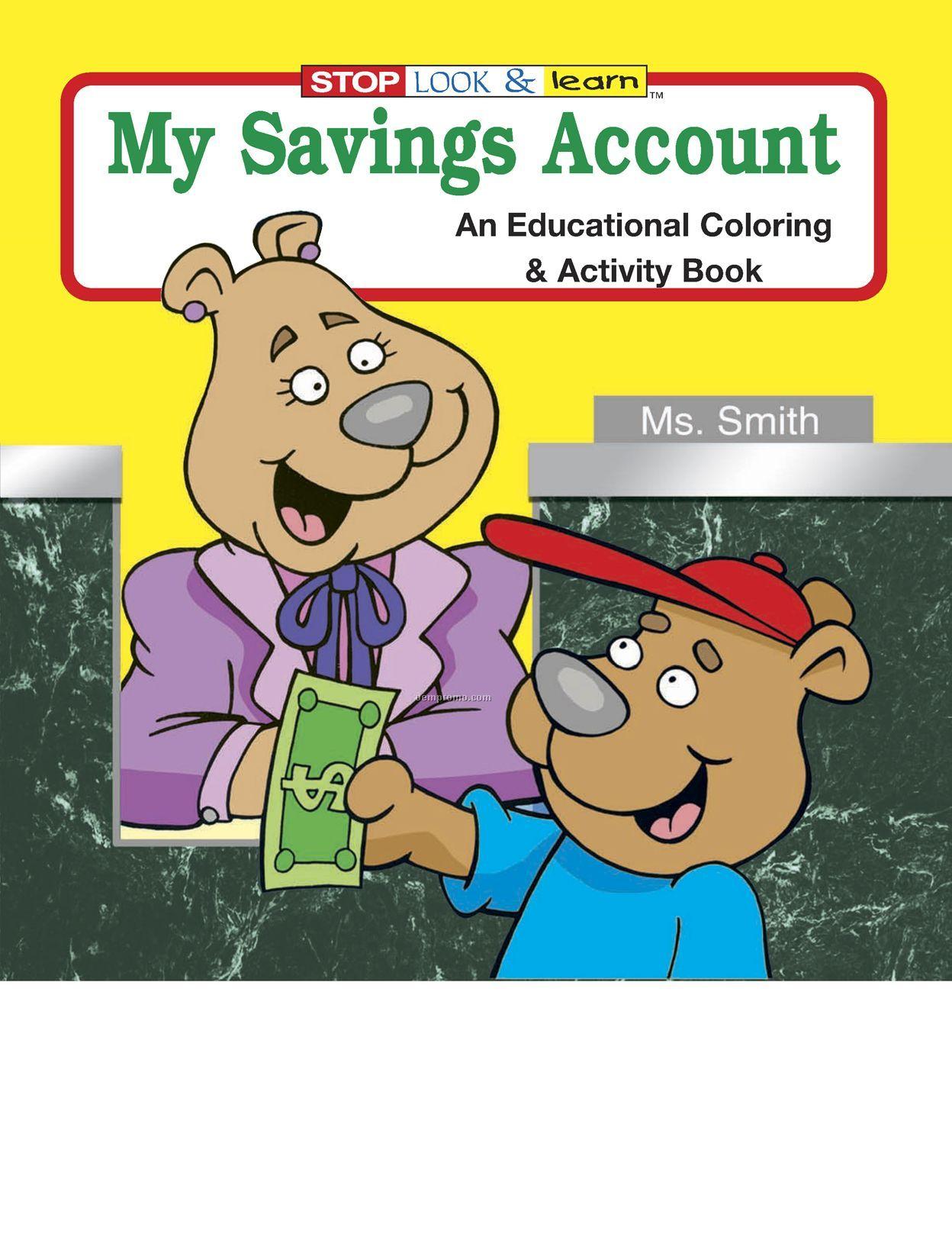 My Savings Account Coloring Book