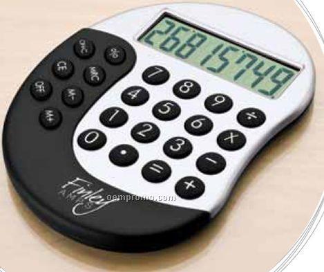 Pocket Calculator W/ Ergonomic Design