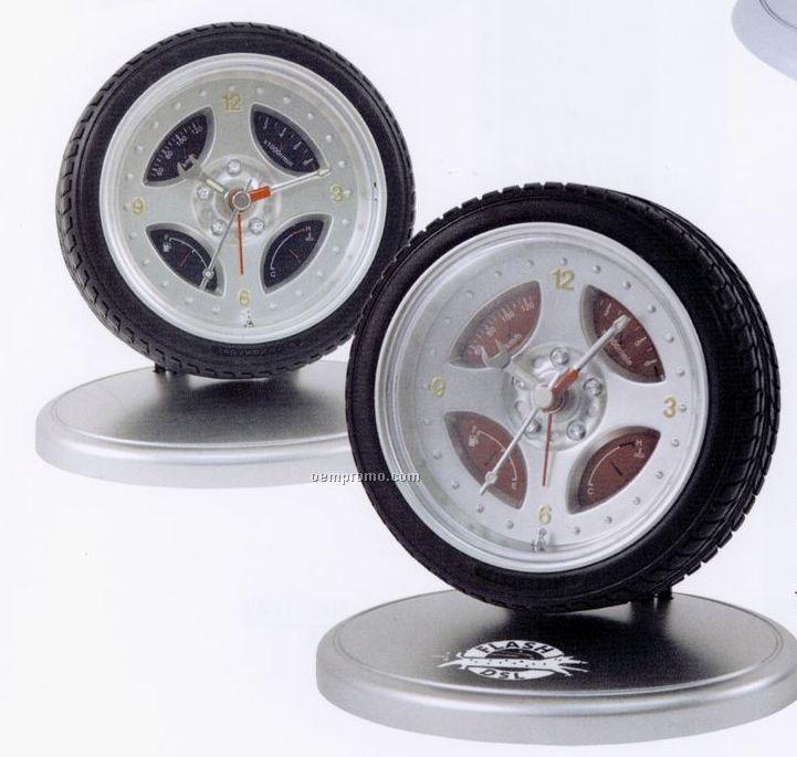 Tire Alarm Clock