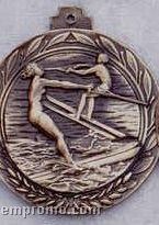"2.5"" Stock Cast Medallion (Water Ski/ Female)"