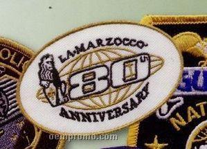 """75% Embroidered Emblem (3"""")"""