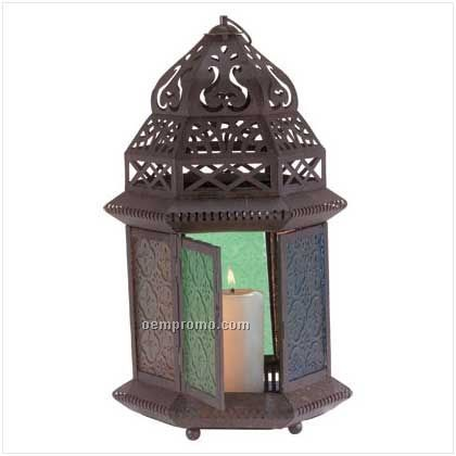 Moroccan Style Tabletop Lantern