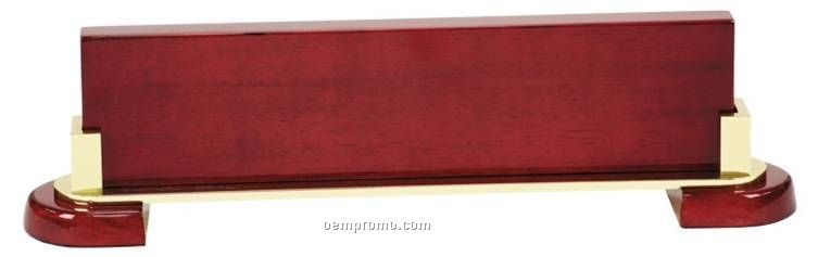 Metal Plate Wedge : Name plate wedges rosewood china wholesale