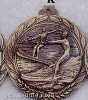 "2.5"" Stock Cast Medallion (Water Ski/ Male)"