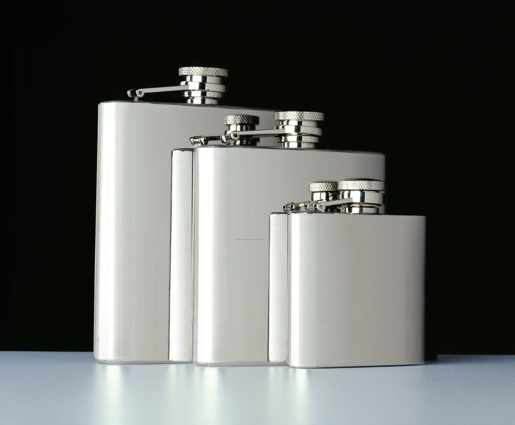 Captive Top 8 Oz. Pocket Flask
