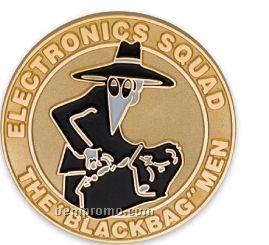 Customized Die Struck Brass Coin