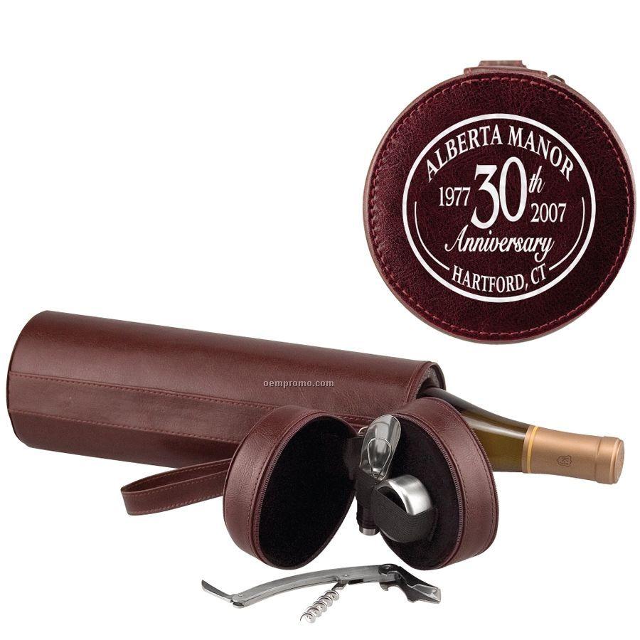 Deluxe Wine Carrier Gift Set