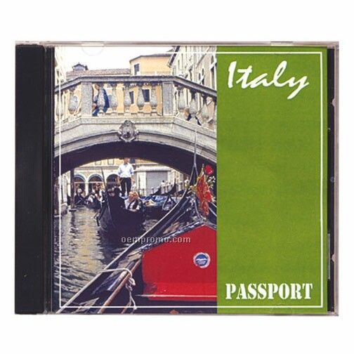 Italy Passport Travel Music CD