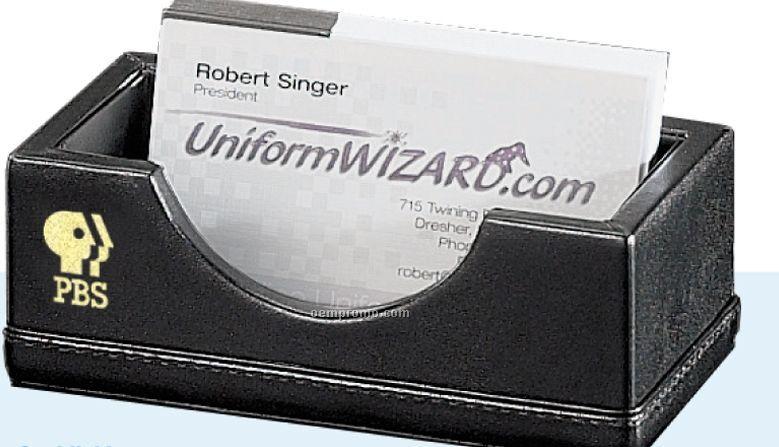 Prestige Leather Business Card Holder
