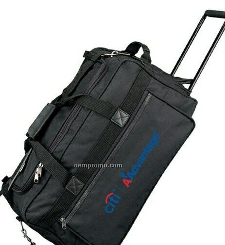 Travel Bag With Wheels And Shoulder Straps 50