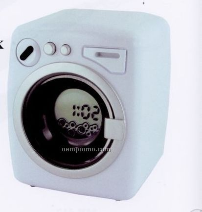 "Washing Machine Alarm Clock (3 1/4""X2 3/4"")"