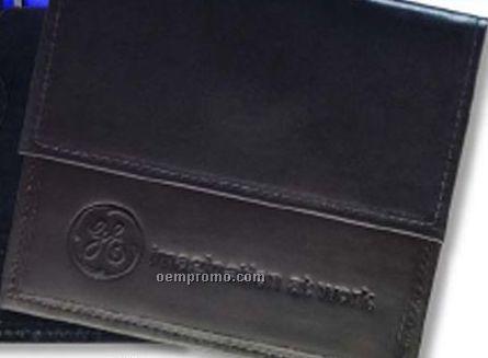 Single CD/DVD Holder - Regency Cowhide Leather