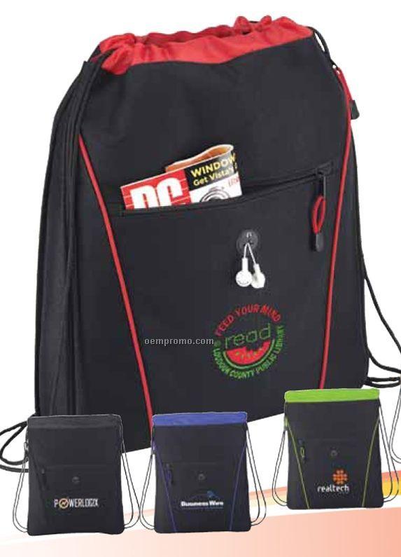 The Raven Drawstring Backpack