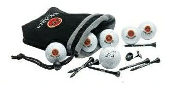 Callaway 6 Golf Ball Pouch With Tees