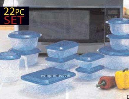 Lacuisine 22 PC Microwave Container Set