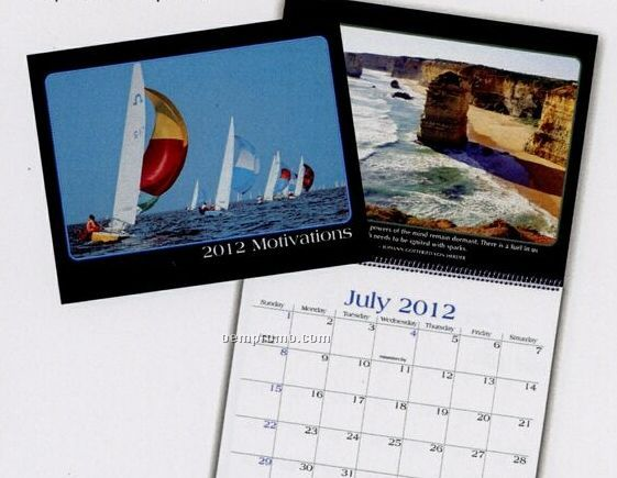 Motivations Wall Calendar (After April)